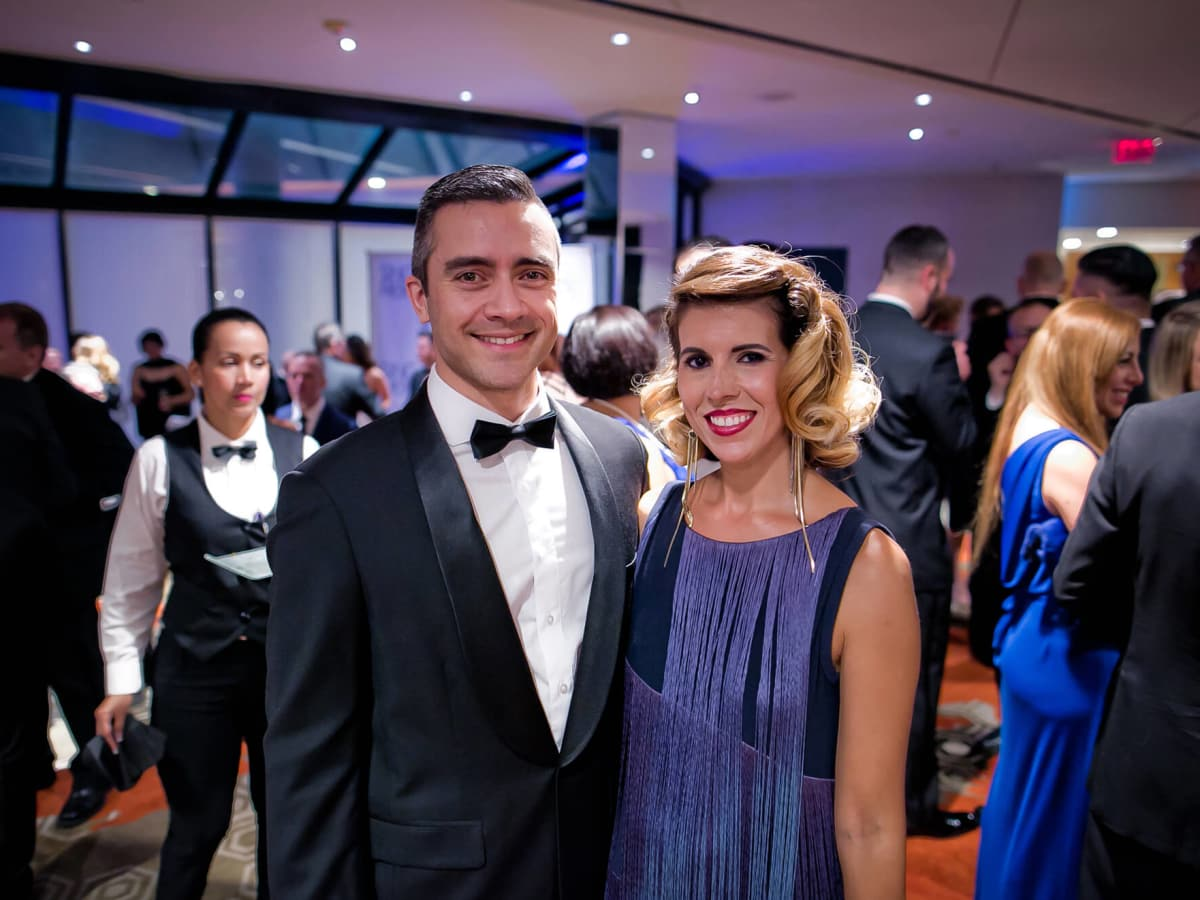 Houston, Sing for Hope gala, Nov. 2016, Fernando Aramburo, Sarah Aramburo
