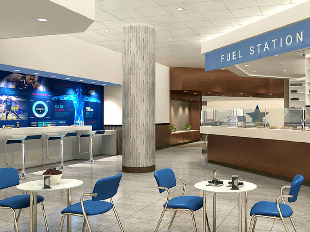 Cowboys fitness center, Frisco Star
