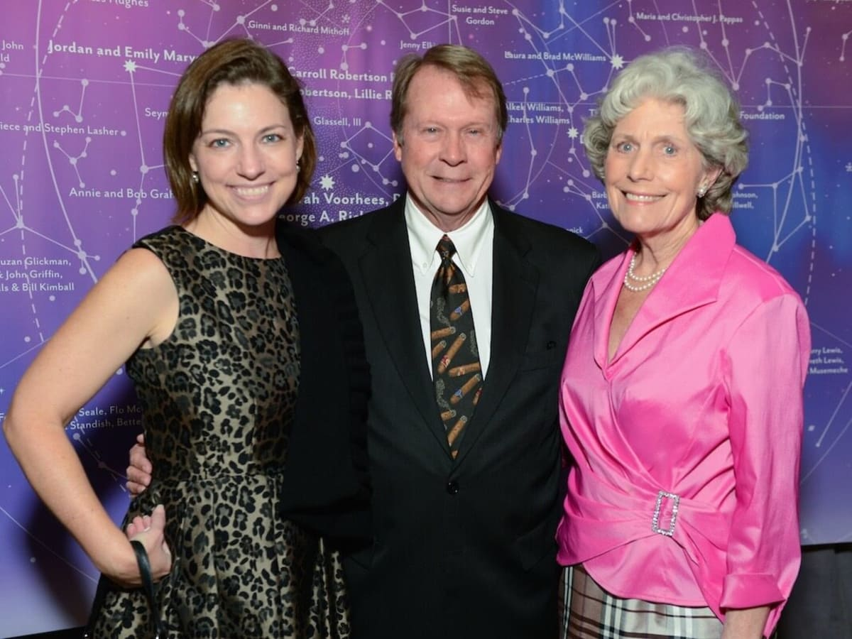 Cullen Geiselman, Steave Pearce, Beth Robertson at UTHealth Constellation Gala