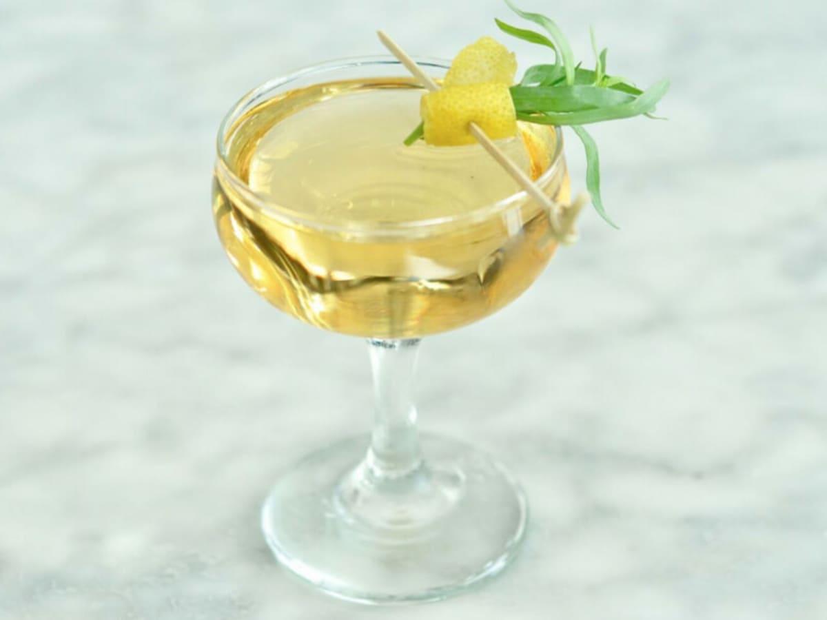 Vox Table restaurant austin fall 2016 cocktail Daddy Said Shoot