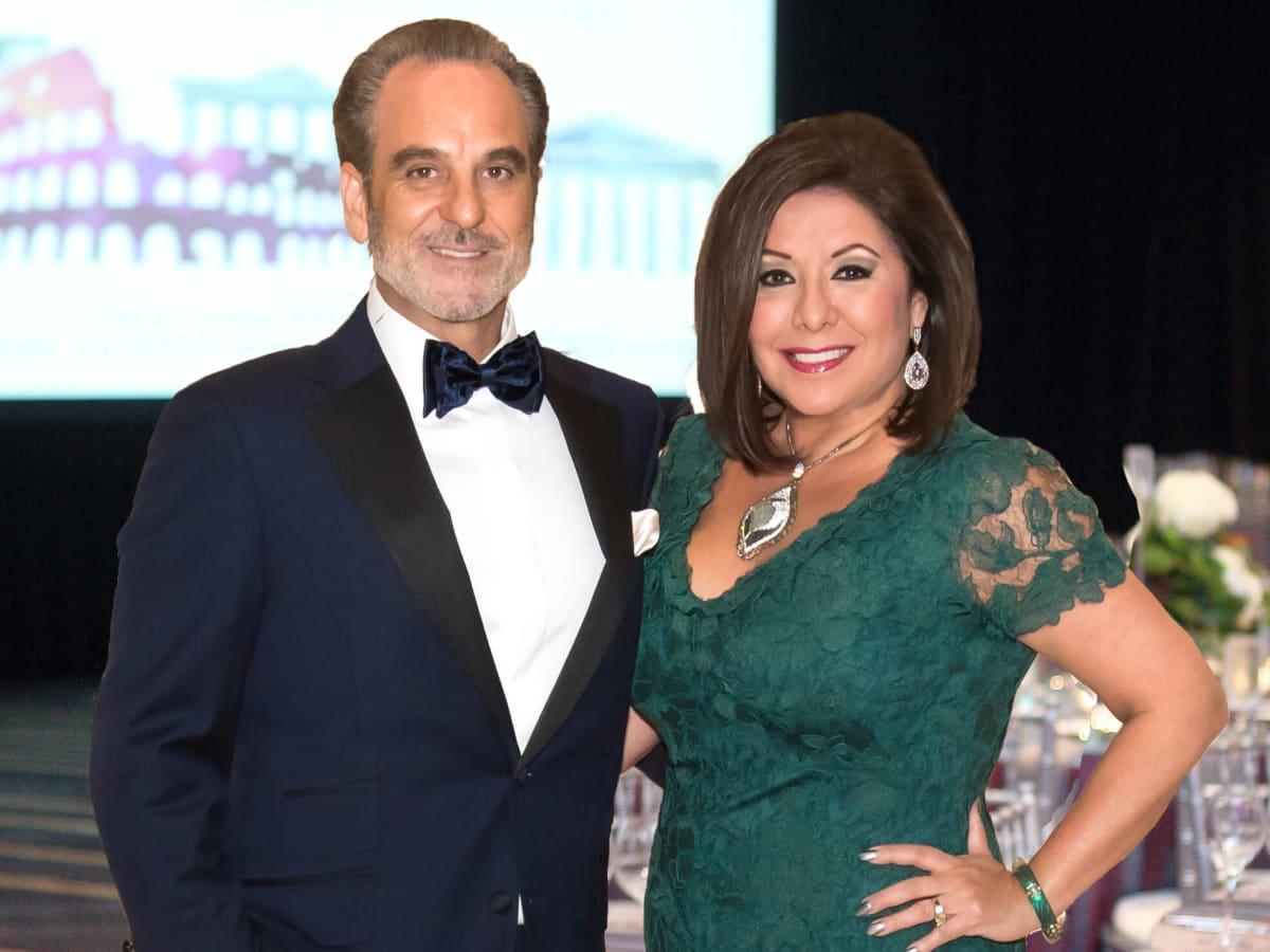 Houston, Bo's Place Una Notte, Nov. 2016, Rudy Festari, Debbie Festari