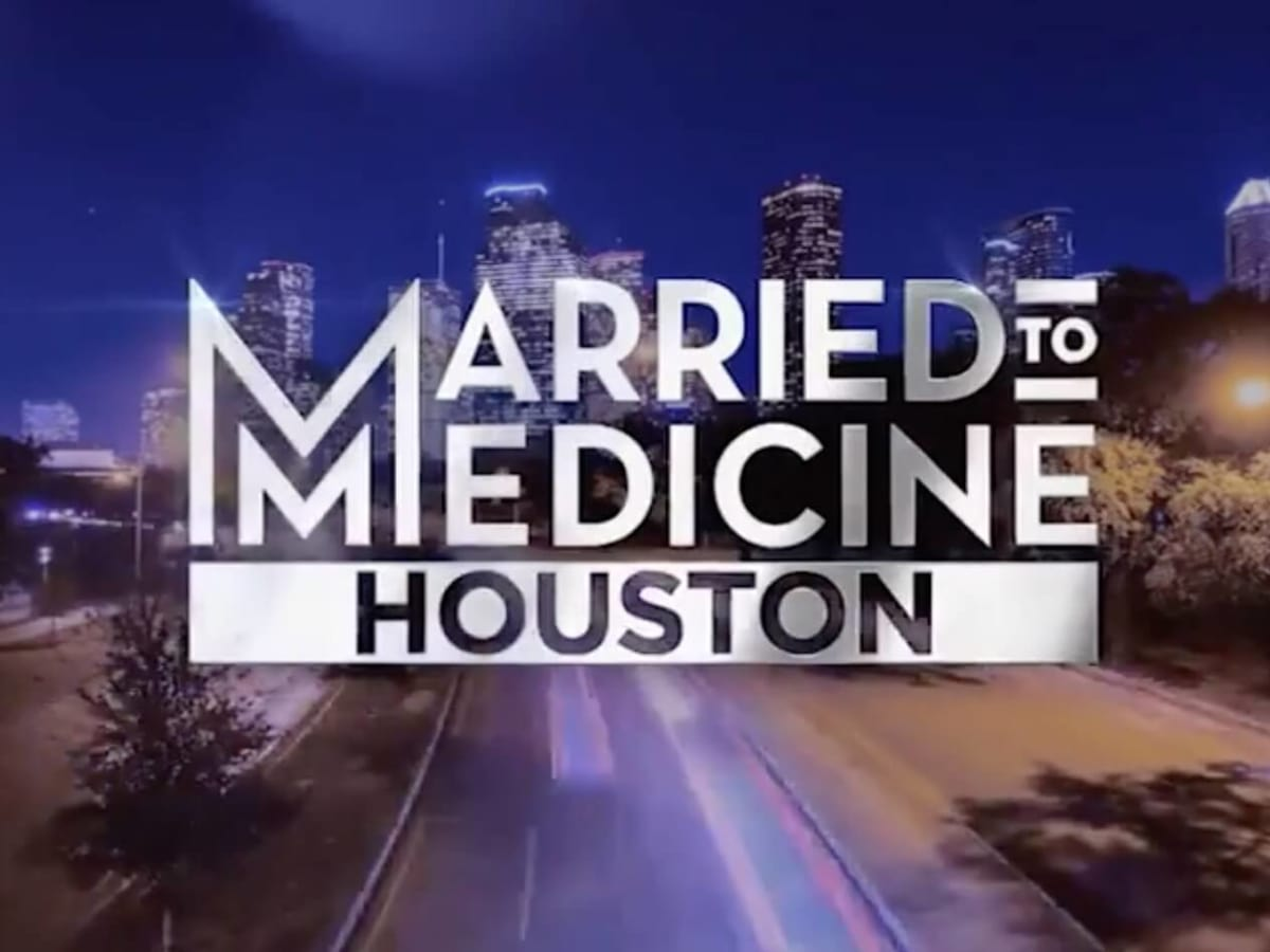 Married to Medicine Houston logo title card
