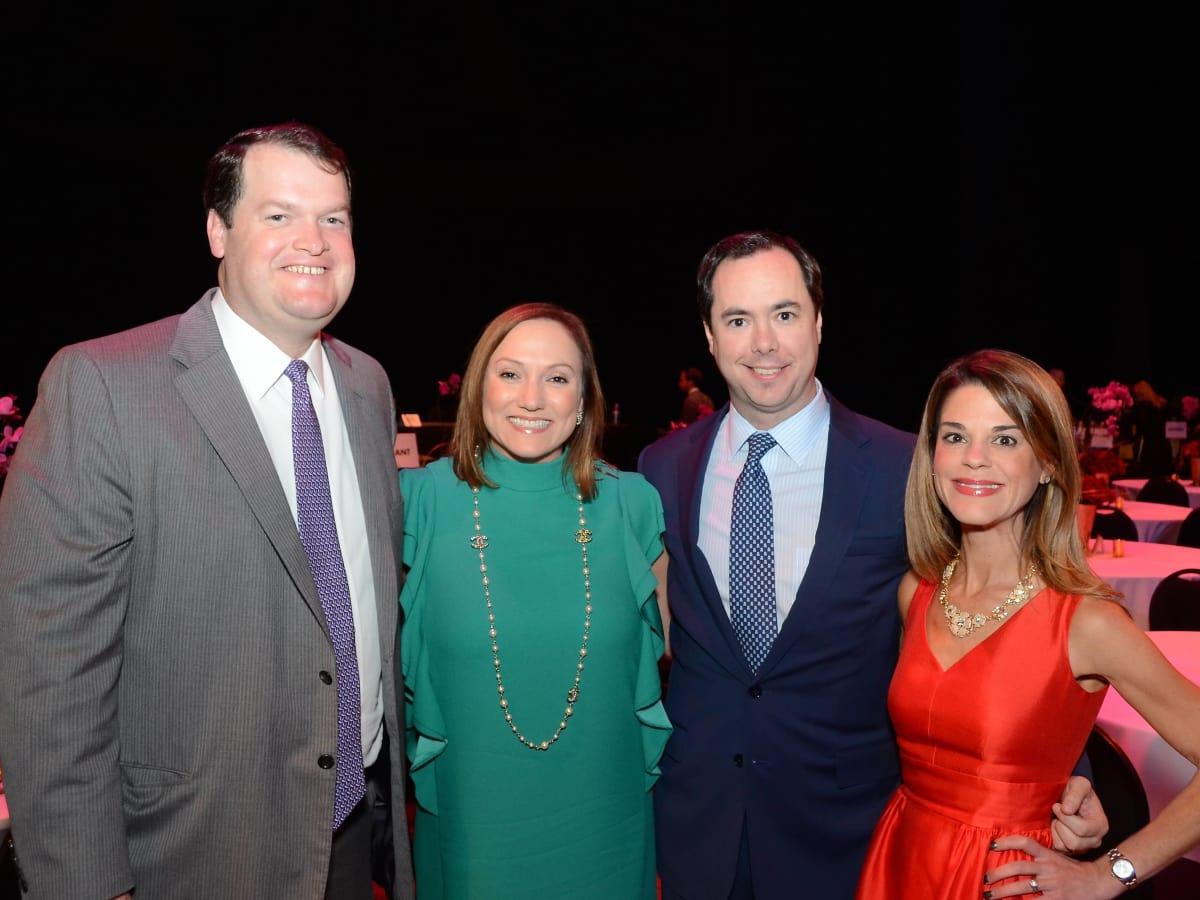 Houston, Society for Performing Arts gala, Nov. 2016, Stephen Gill, Mignon Gill, Brian Bravo, Margaret Bravo