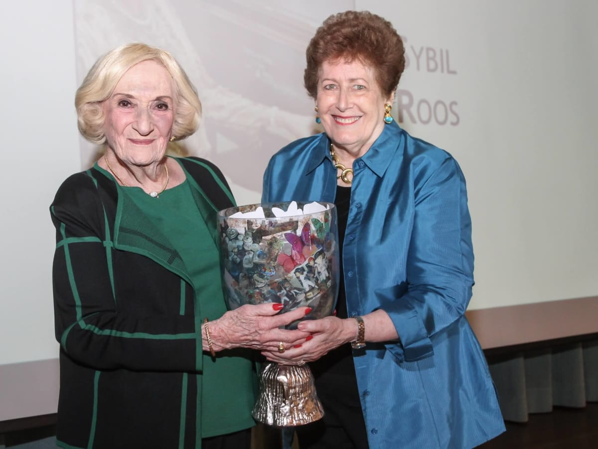 Sybil Roos and Patsy Andrews at Art of Conversation