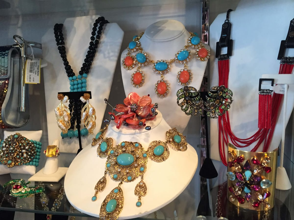 Bigger Is Better In The Selection Of Covetable Costume Jewelry At Vintage Martini