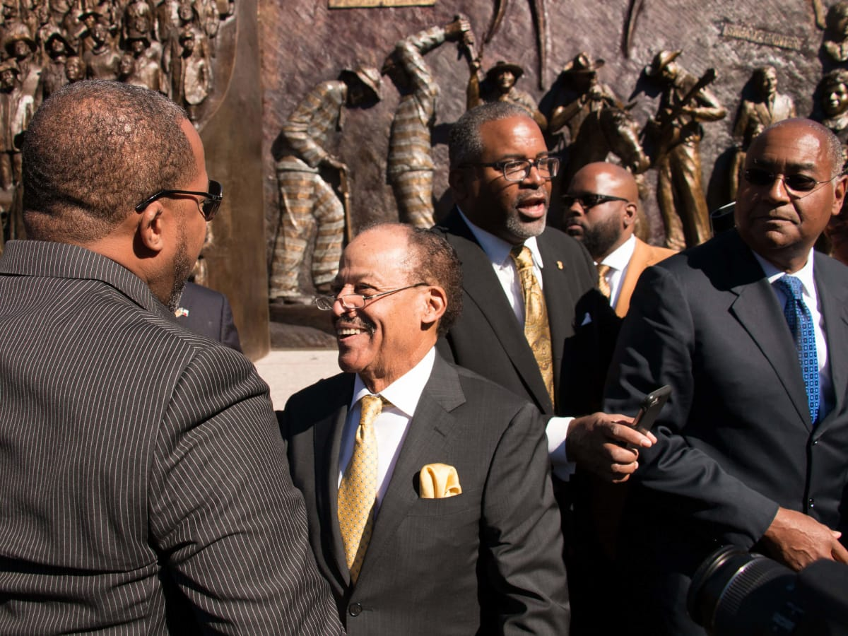 Texas African American History Memorial Unveiling Texas State Capitol November 2016 Ed Dwight