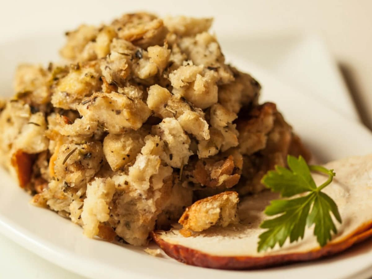 Thanksgiving stuffing dressing