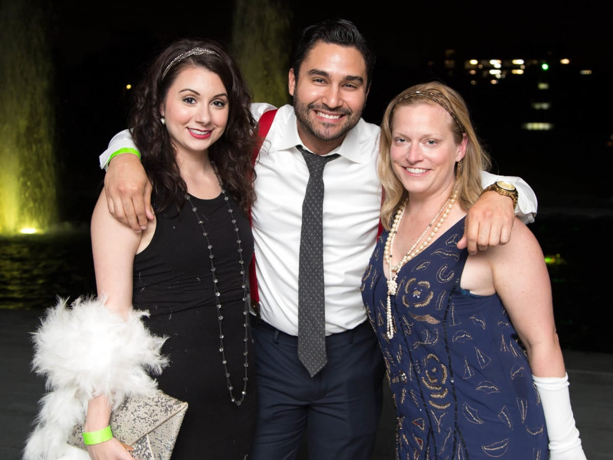 Houston, Urban Green's Gatsby in the Gardens, Nov 2016, Marisa Whitenton, Bryan Rodriguez, Jennifer Vance