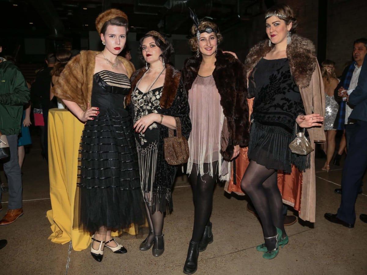 CultureMap Old Forester Bourbon Ball 2016 Sarie Gessner Erin Freeman Amy Ecker Sara Stark