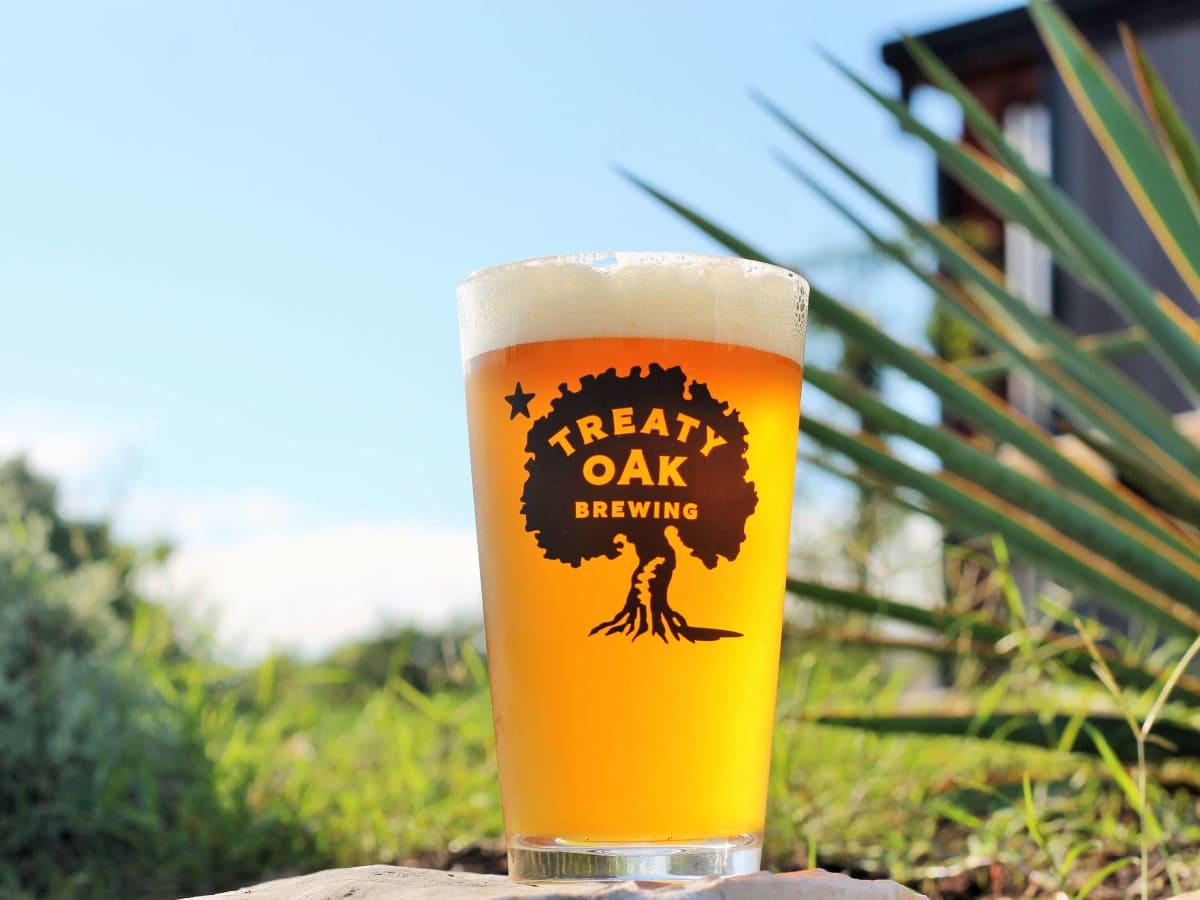 Treaty Oak Brewing & Distilling beer