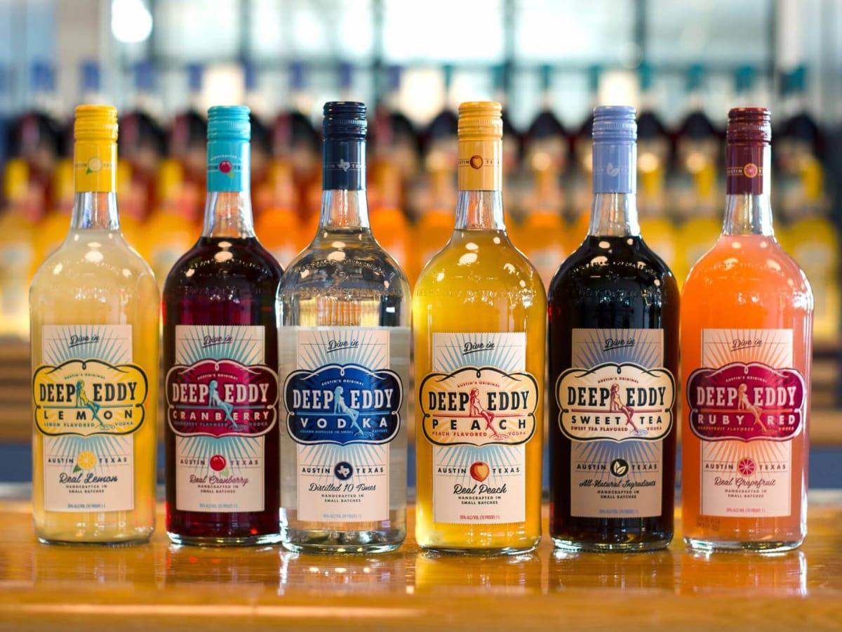 Deep Eddy Vodka lineup
