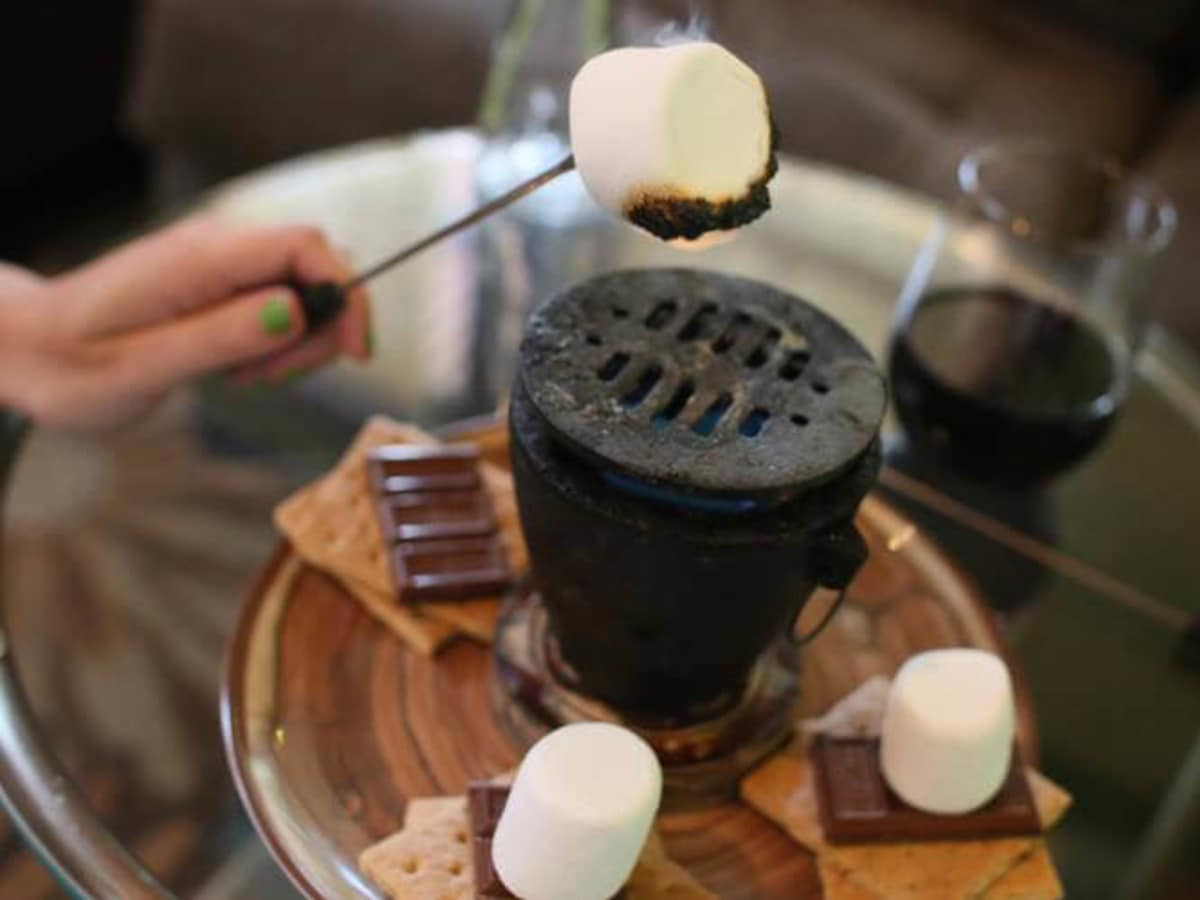 House Wine smores bar
