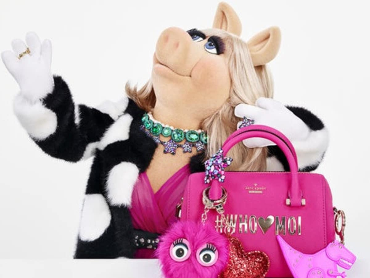 Kate Spade New York Miss Piggy collection