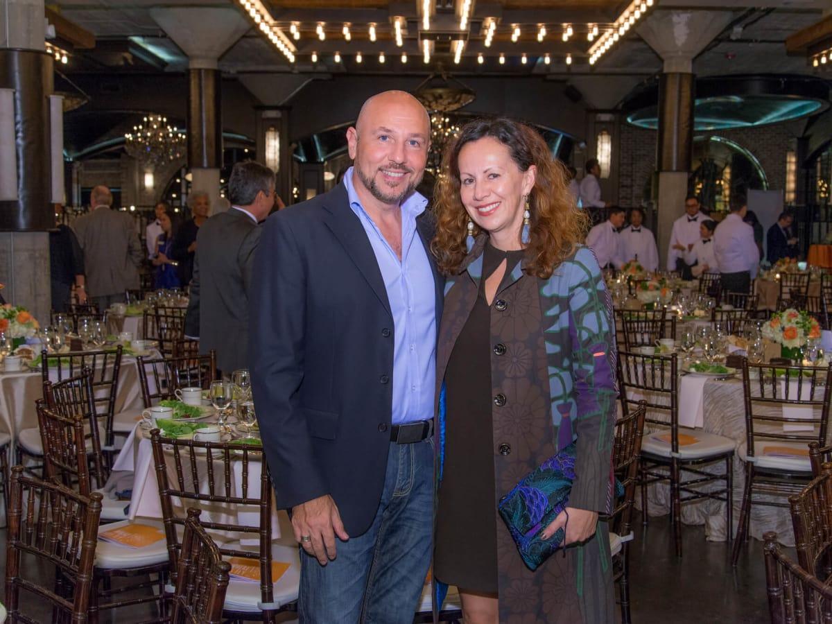 Houston, Writers in the Schools gala, Dec 2016, Nicola Parente, Ana Beaven