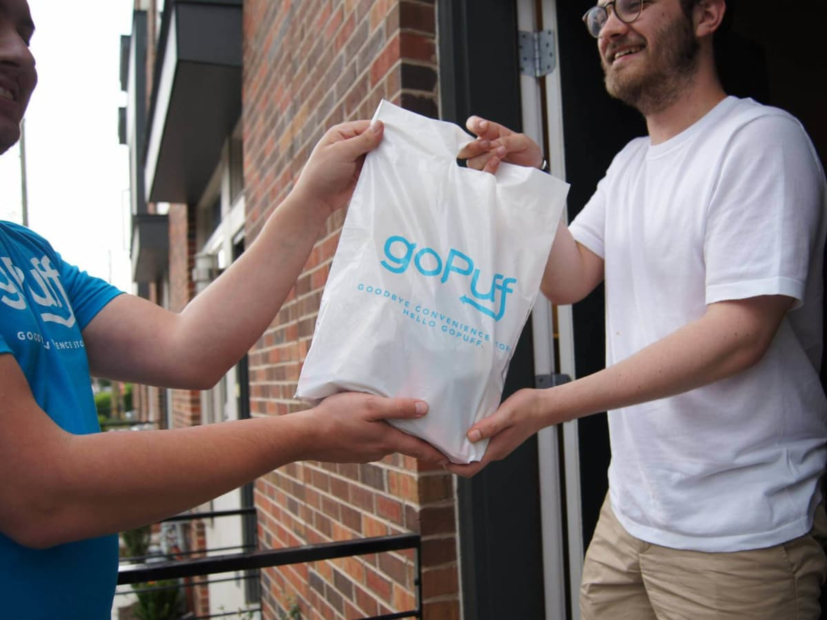 goPuff delivery service