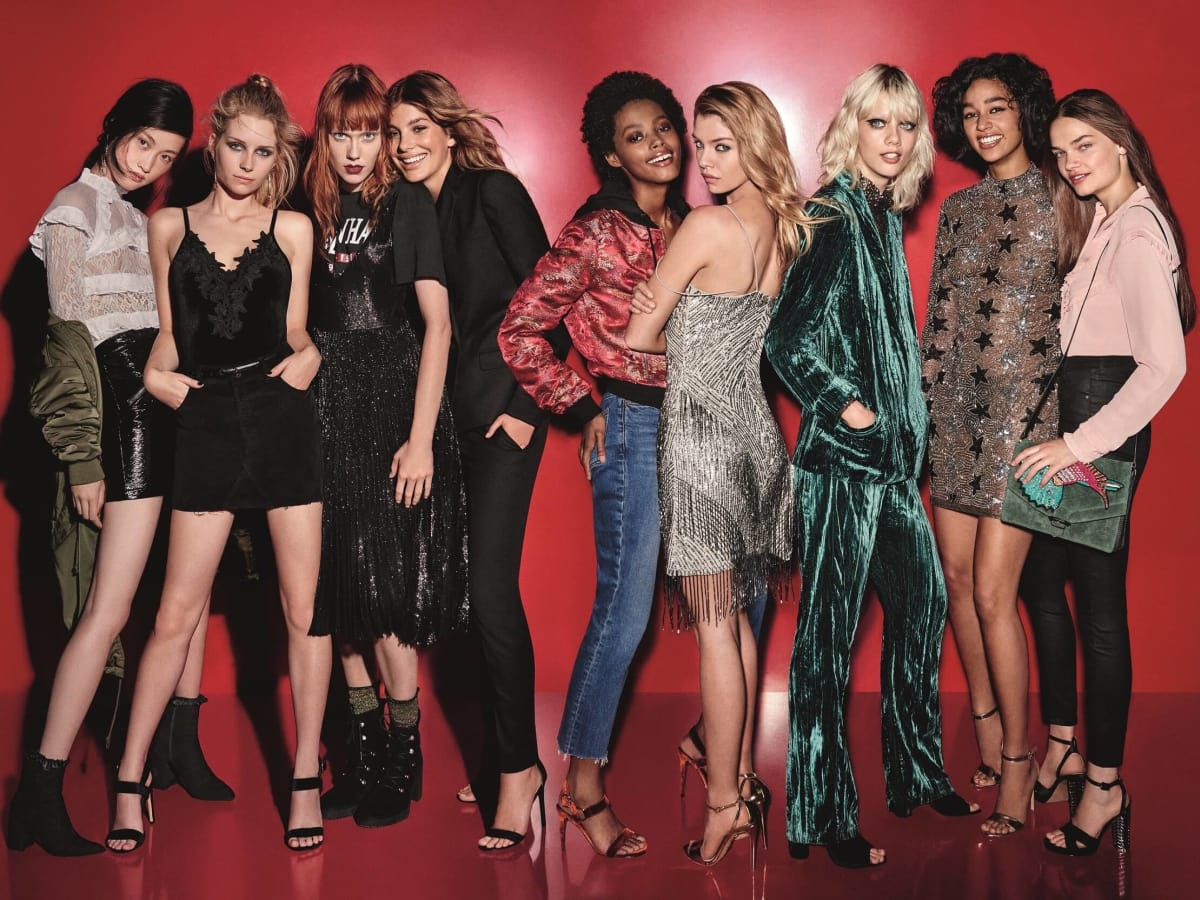 Topshop holiday womenswear