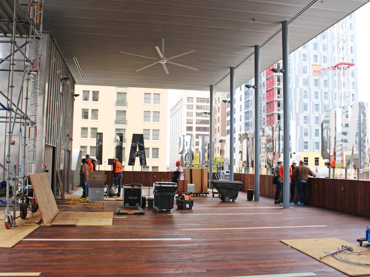 The Contemporary Austin Jones Center Moody Rooftop renovation 2016