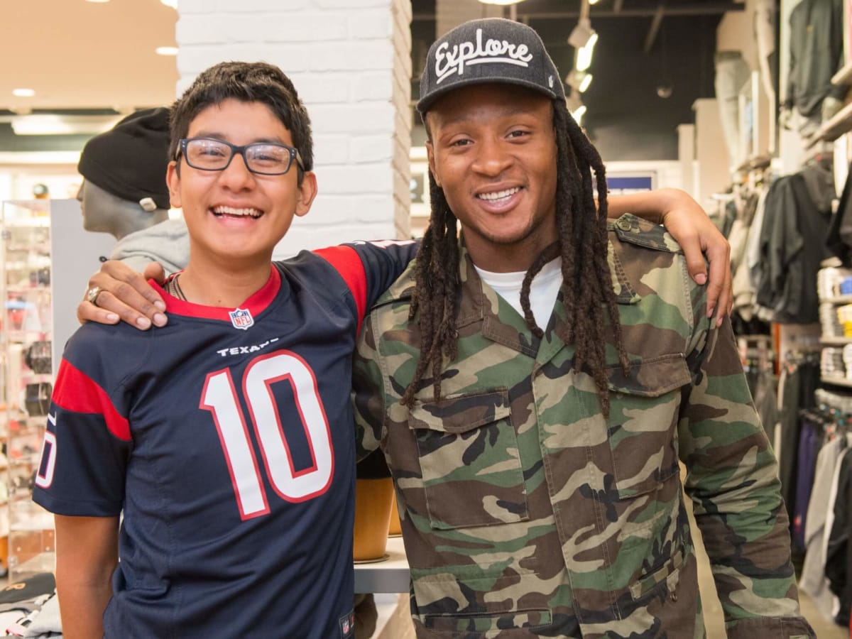 DeAndre Hopkins shopping spree for kids