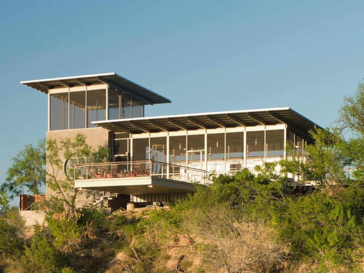 Houzz Texas house home tour Uvalde trailer