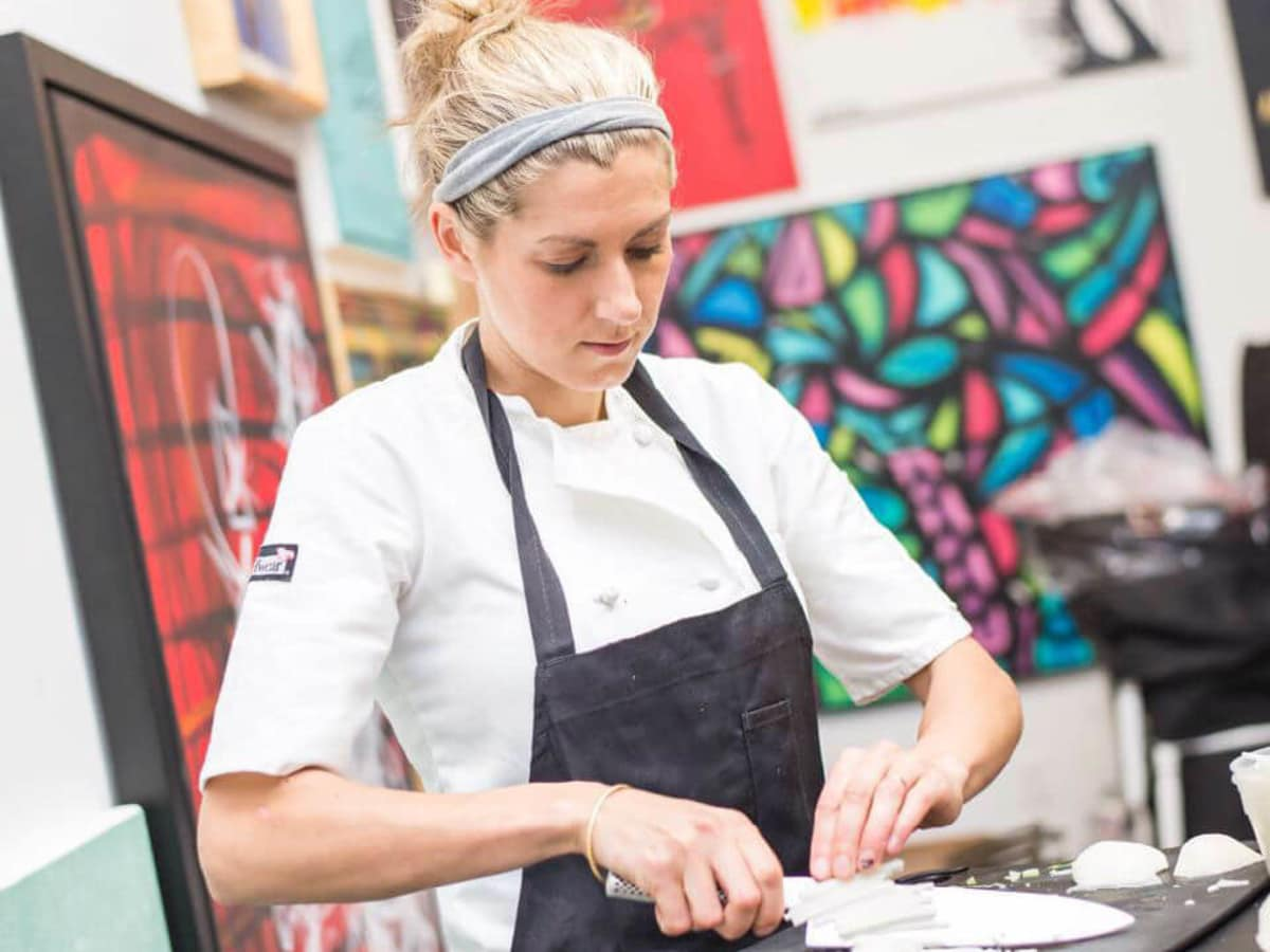 Pastry chef Tina Miller of Blind Butcher