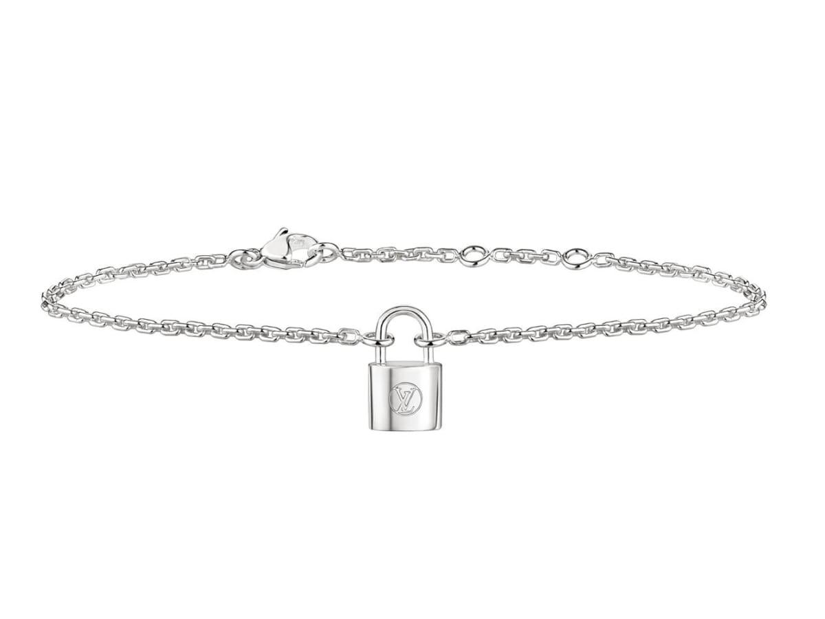 Houston, Louis Vuitton Make A Promise campaign, Jan 2017, Silver Lockit Necklace Bracelet