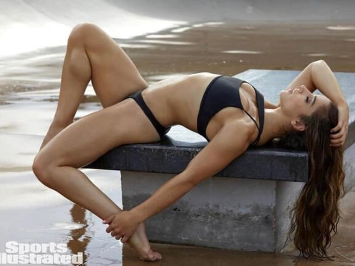 Aly Raisman in Sports illustrated 2017 Swimsuit issue