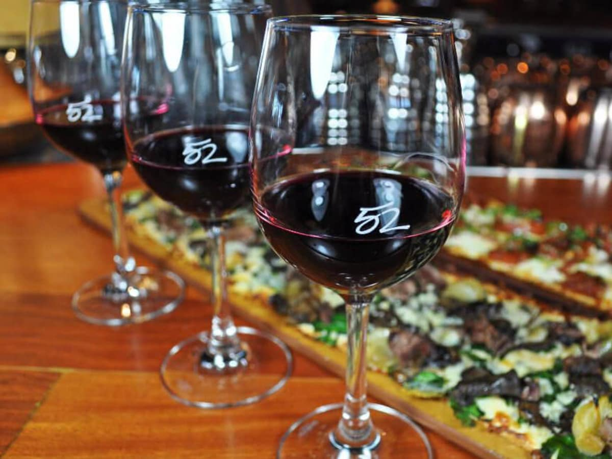 Wine flight at Seasons 52