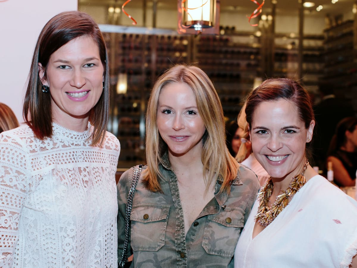 Houston,National MS Society On the Move Luncheon, Jan 2017, Stacey Thompson, Melissa Strong, Katie Daily