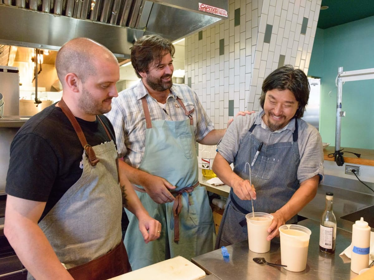 Salty Supper Ryan Lachaine Bryan Caswell Ed Lee