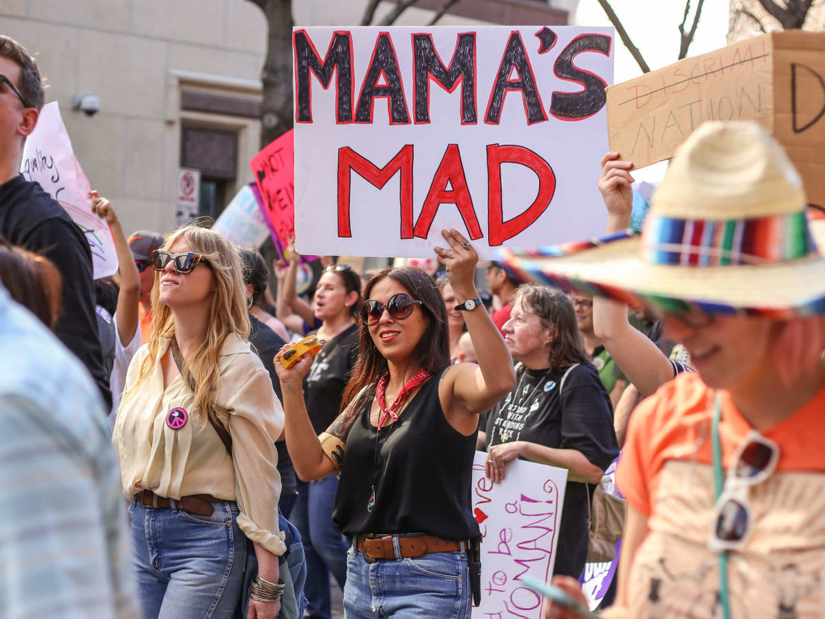 Women's March Austin Audrie San Miguel