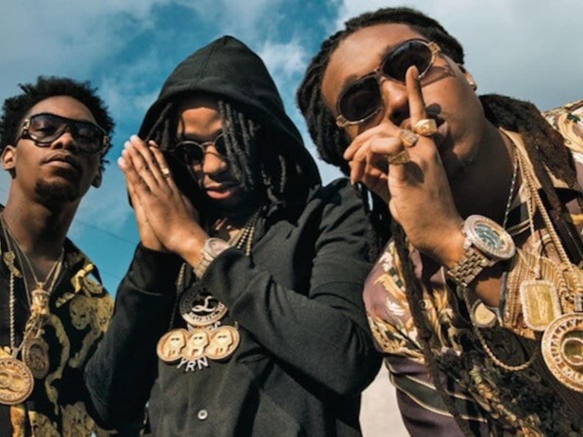 Migos hip hop group