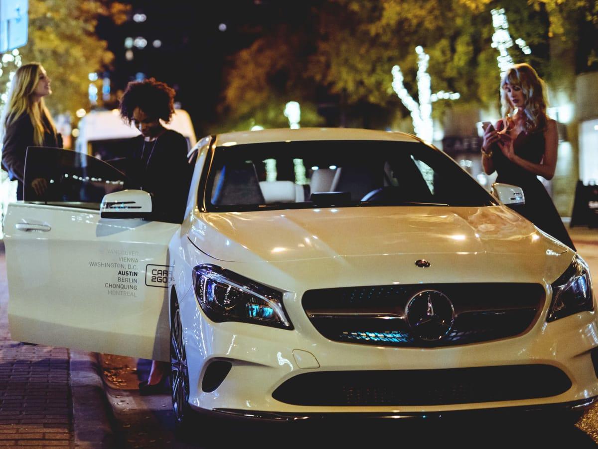 car2go Mercedes-Benz CLA