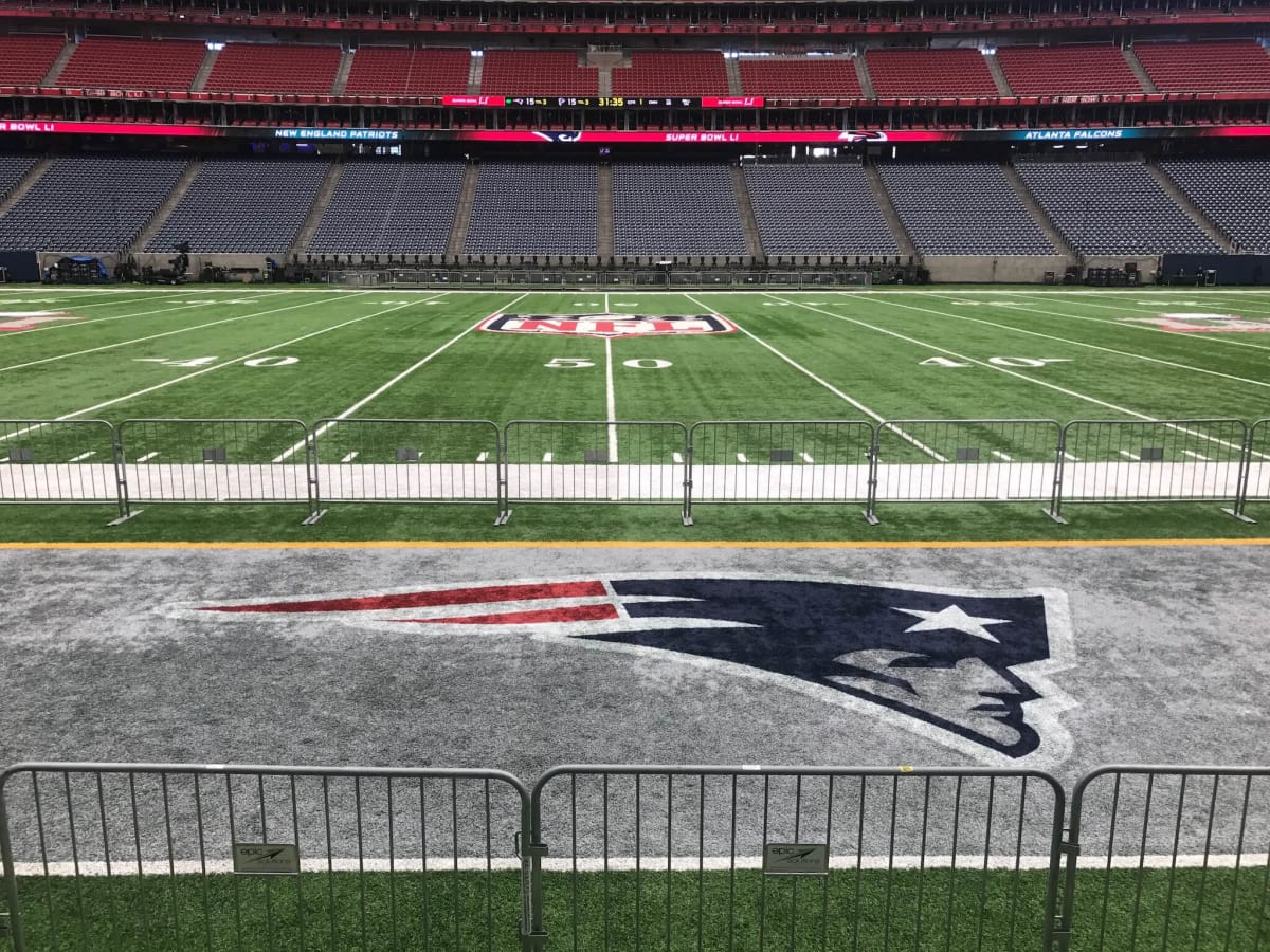 NRG Stadium Super Bowl LI Field