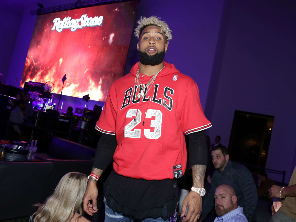 Houston, Rolling Stone Super Bowl party, Jan 2017, Odell Beckham Jr.