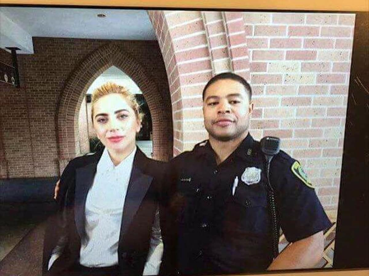 Houston, Lady Gaga's Super Sunday, Super Bowl LI, Feb 2017, Lady Gaga at St. Martins Episcopal Church Houston