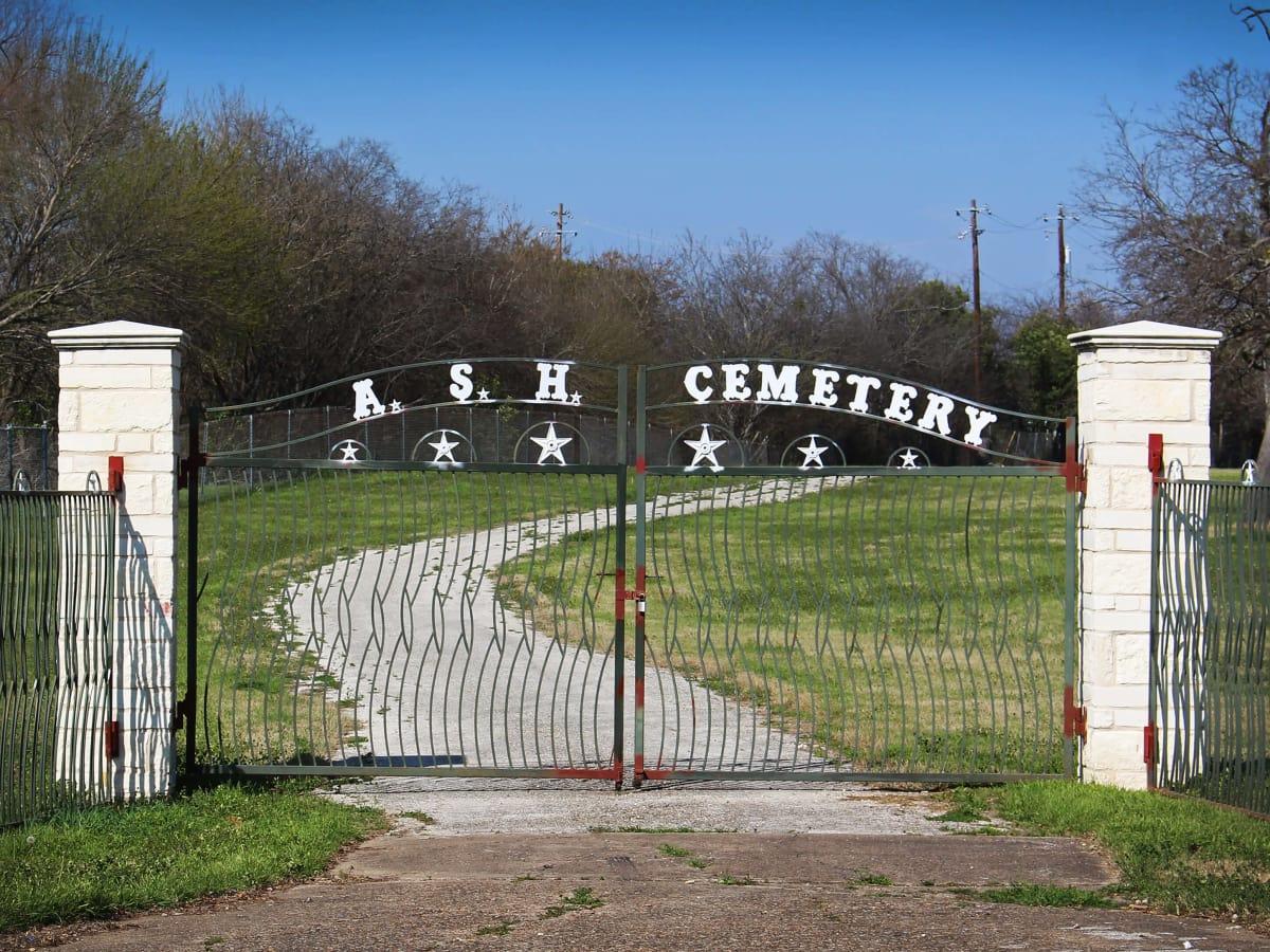 Austin State Hospital ASH Cemetery 2017