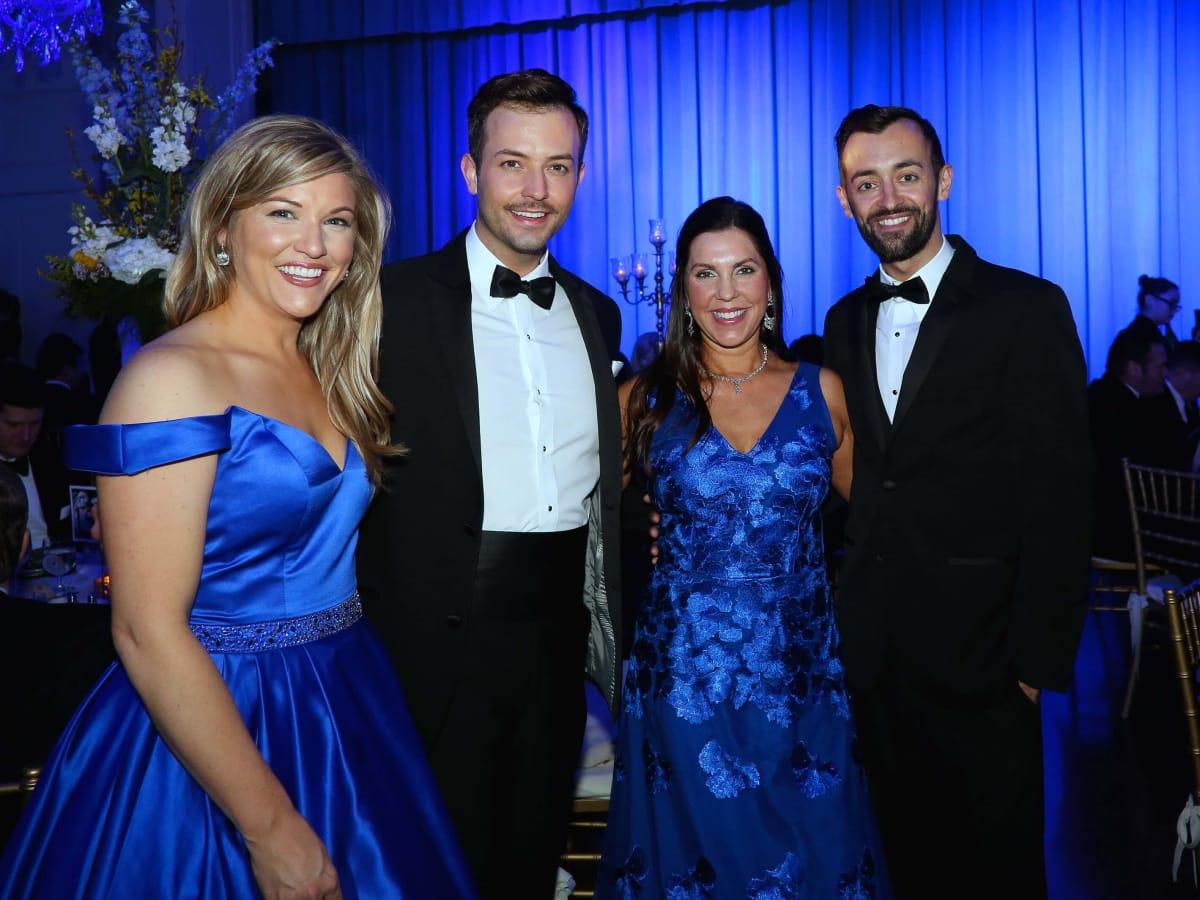 Houston, Junior League of Houston Charity Ball, Feb 2017, Christina Keslar, Logan Keslar, Jennifer Roberts, Dylan Godwin