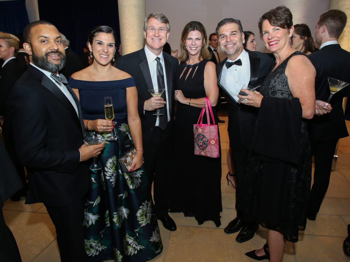 Blanton Museum of Art Gala 2017 Trevor Brown Marice Brown Mark Mai Mary Clay Greg Clay Kate Mai
