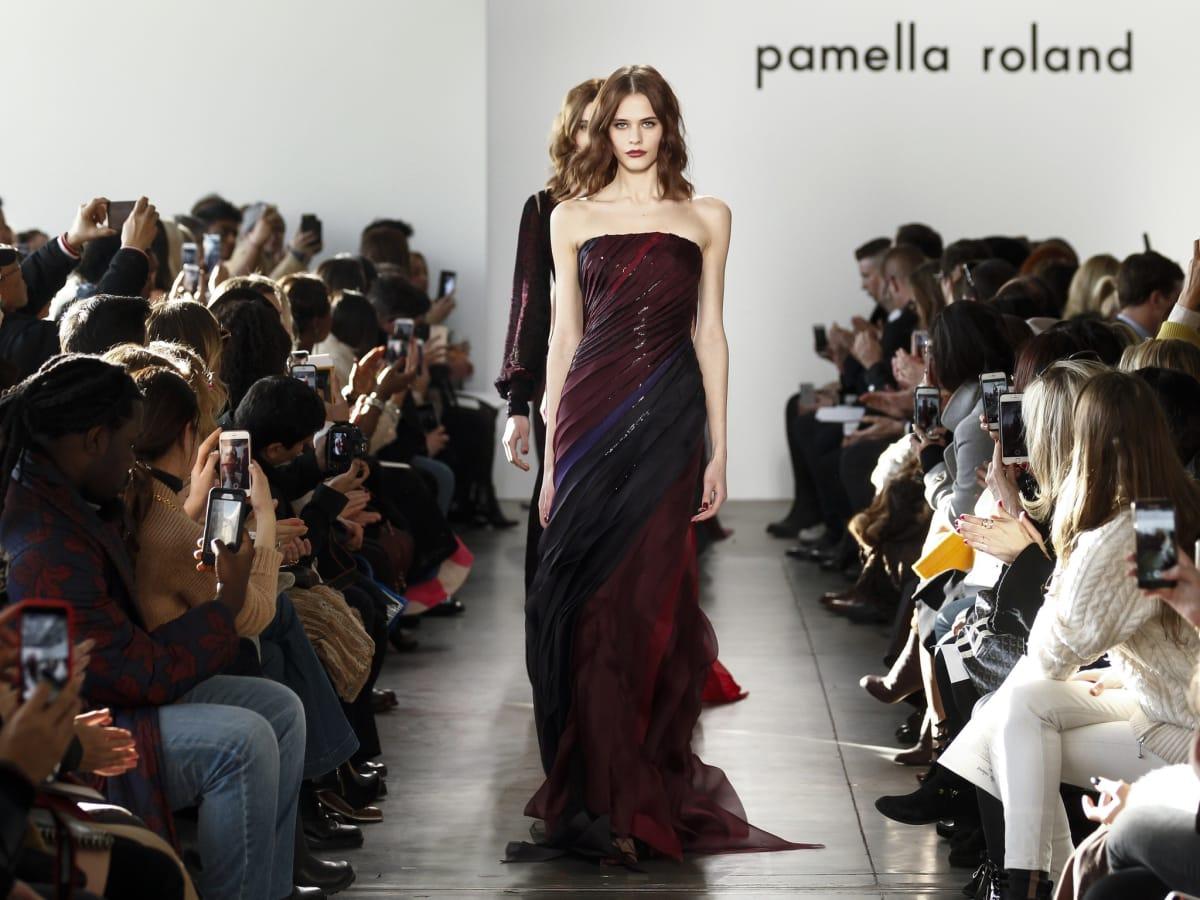 Pamella Roland fall 2017 look 35