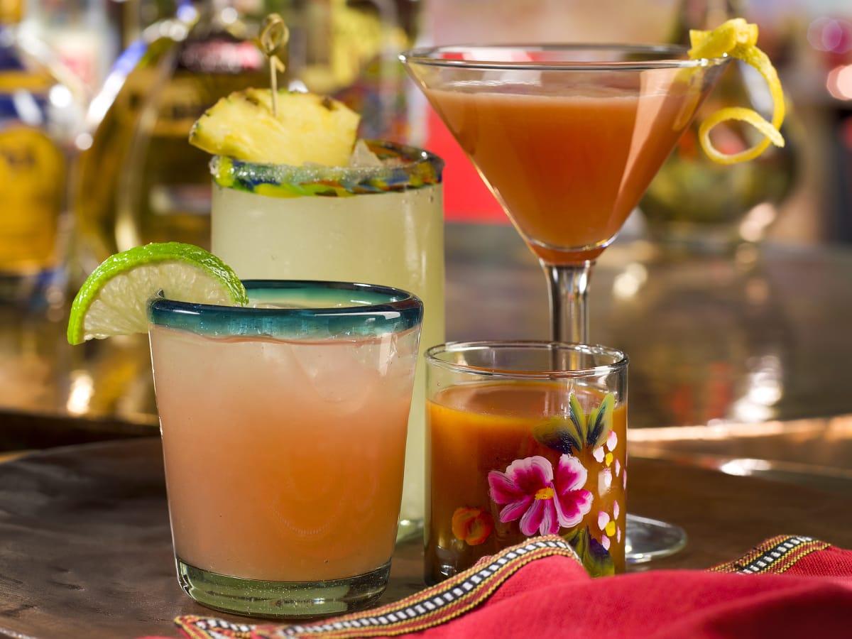 Fonda San Miguel cocktails frinks