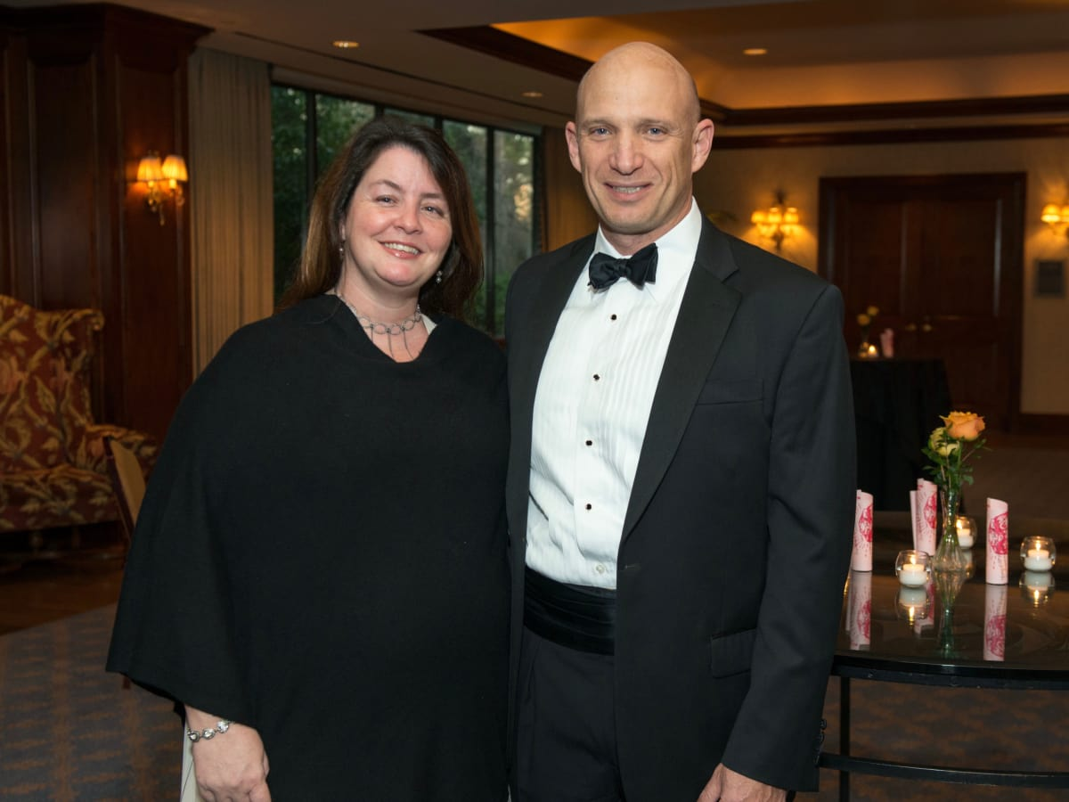 Inprint Poets & Writers Gala 2017: Inprint Poets & Writers Ball Co Chairs Kelly & Michael Sklar.