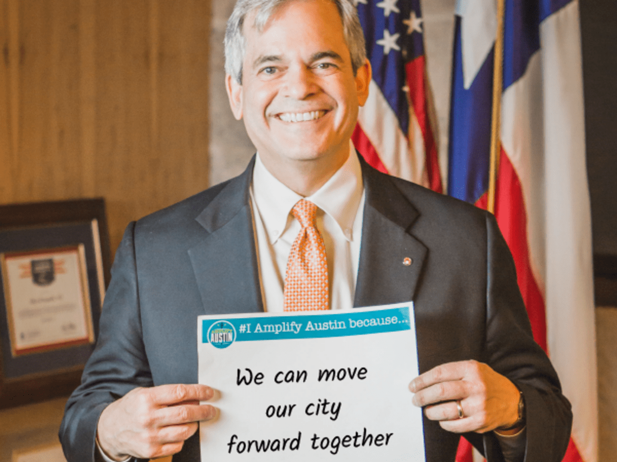 Amplify Austin 2017 Mayor Steve Adler