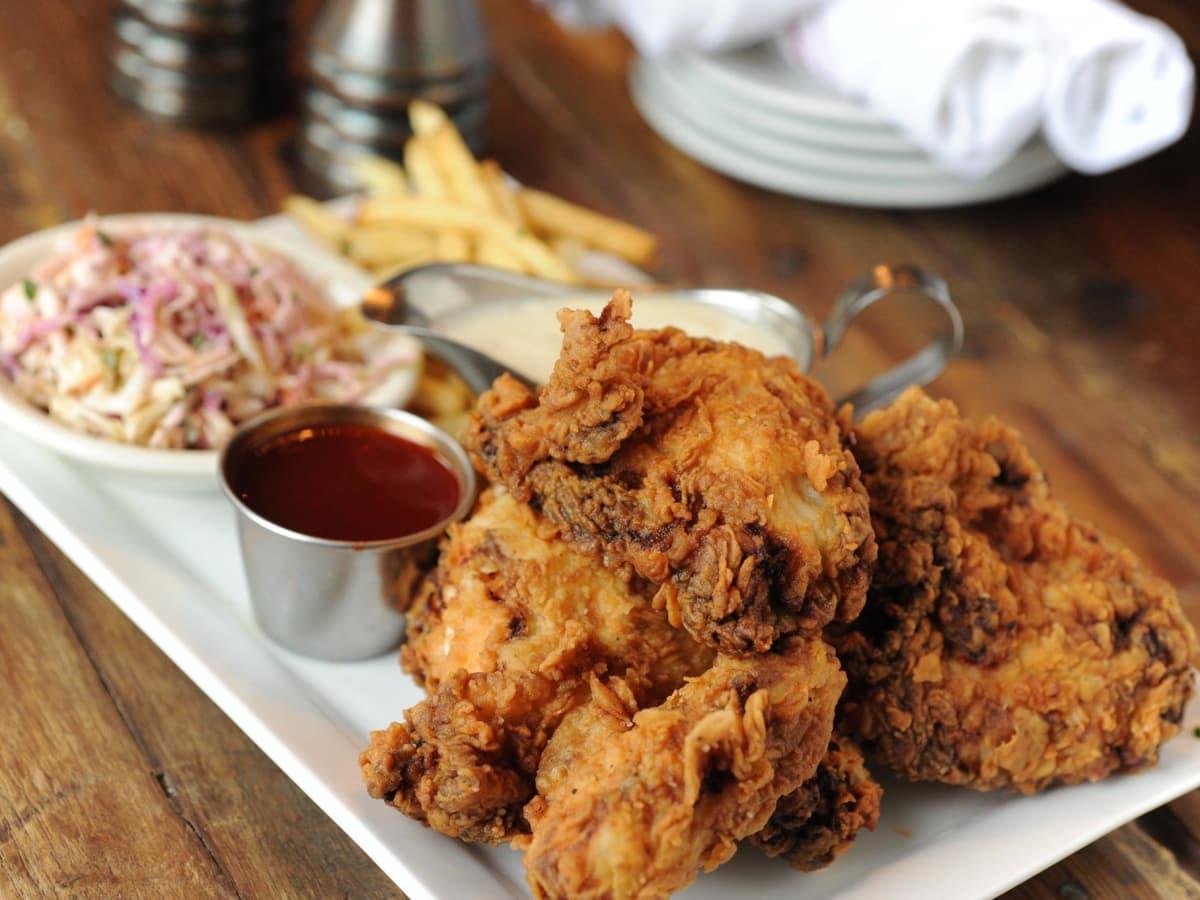Liberty Kitchen & Oyster Bar fried chicken