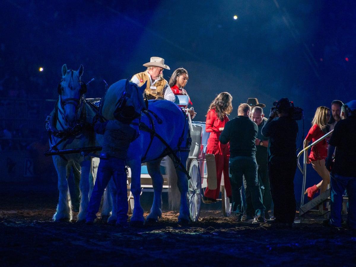 Fifth Harmony arrive at Rodeo Houston 2017