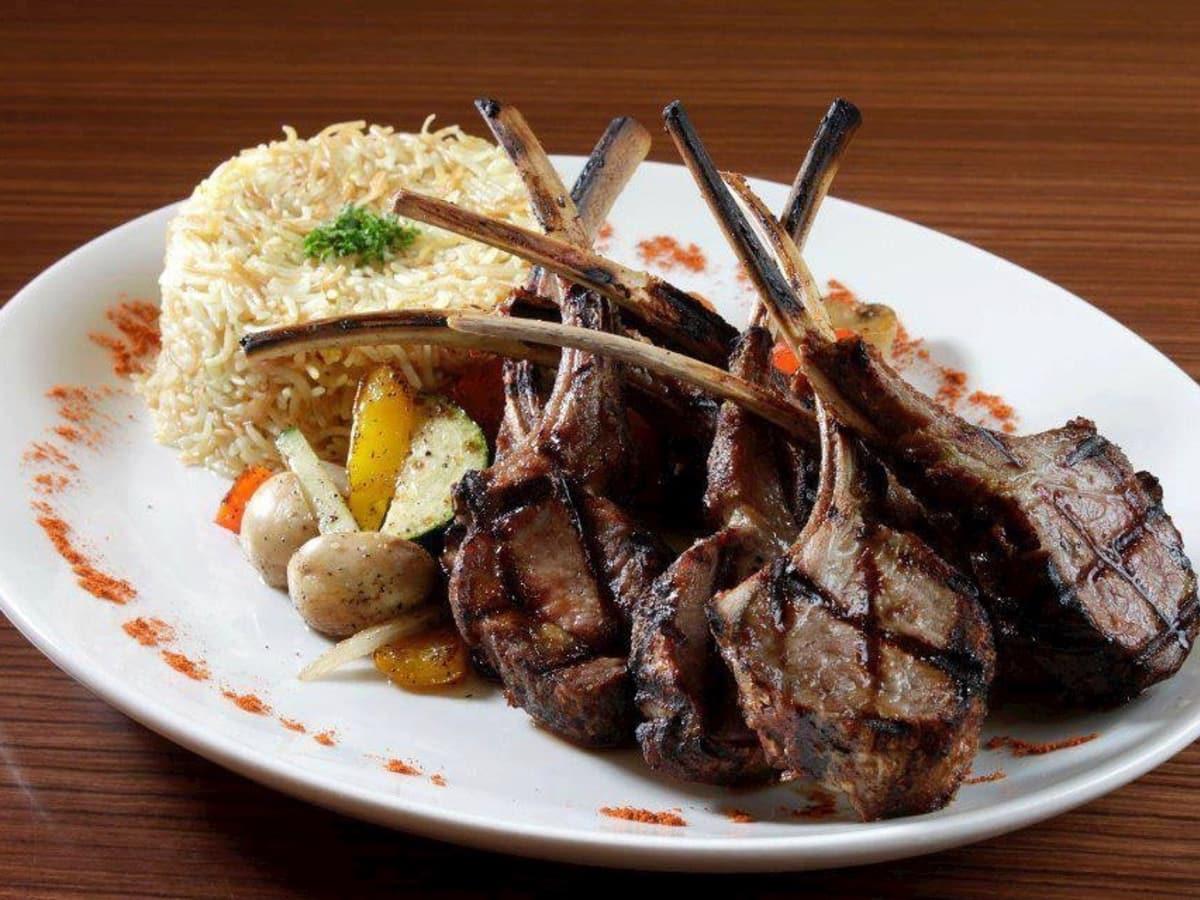 Terra Mediterranean Grill lamb chops