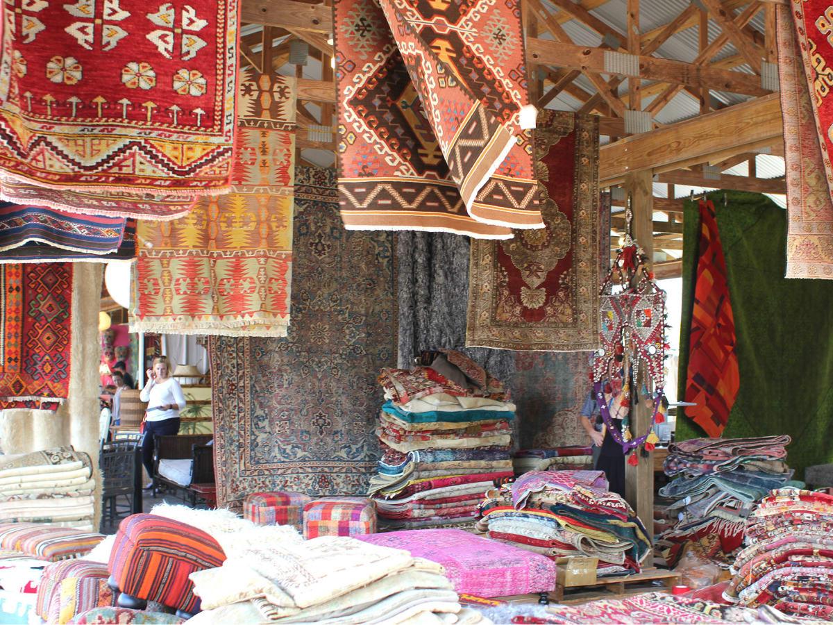 Round Top, Texas antique rugs