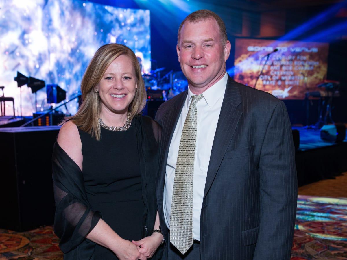 Houston, Space Center Houston Galaxy Gala, April 2017, Trini Reed, Nate Reed