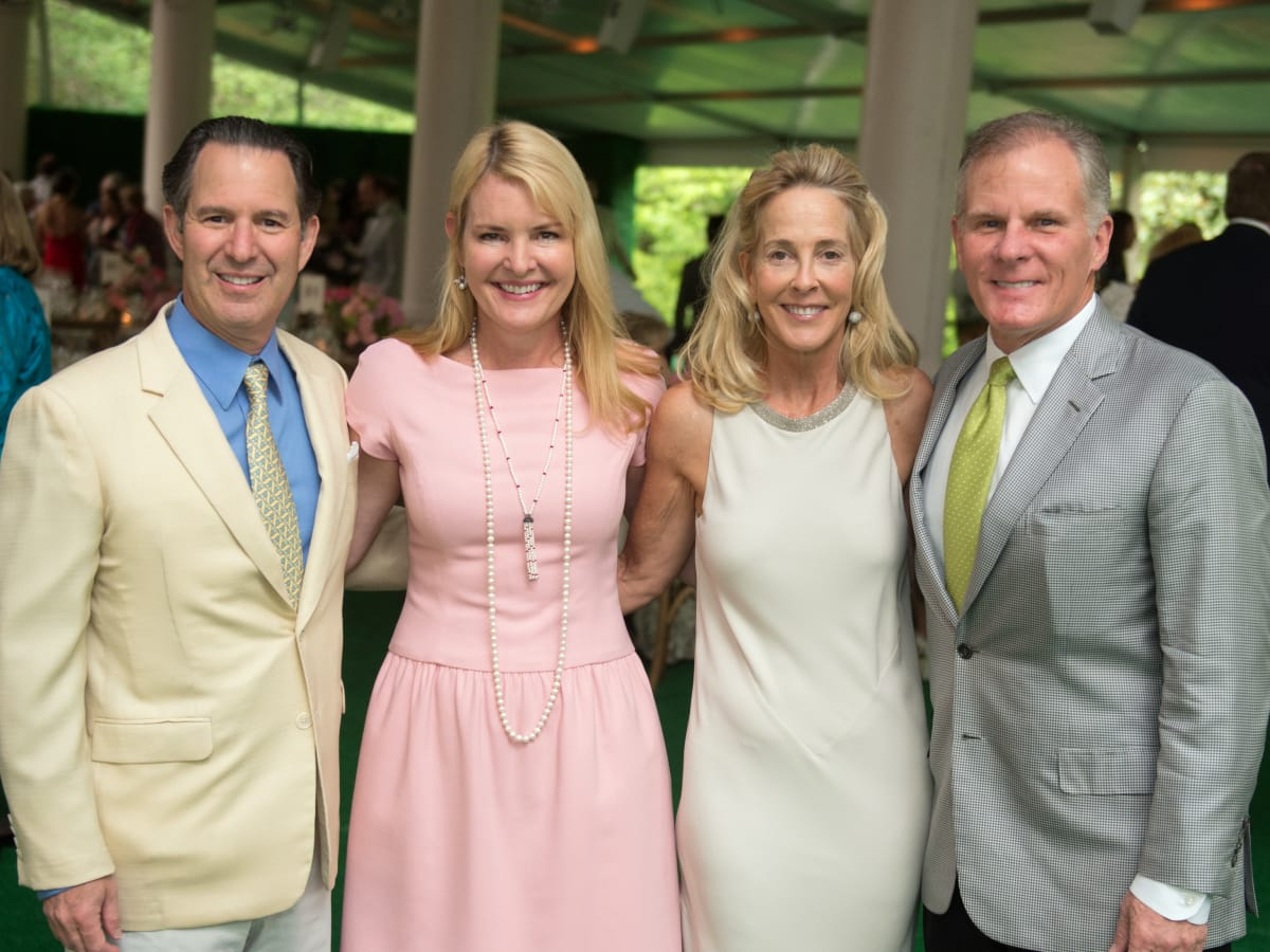 Houston, Bayou Bend Garden party, April 2017, Kitch Taub, Anne Hamman, Eliza Stedman, Stuart Stedman