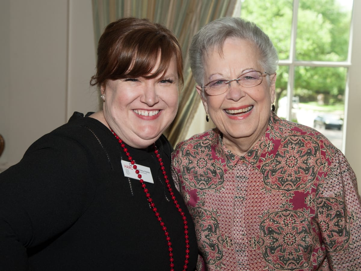 Houston, Aphasia luncheon with Lee Corso, April 2016, Eleni Christou Franklin, Rose Carrabba