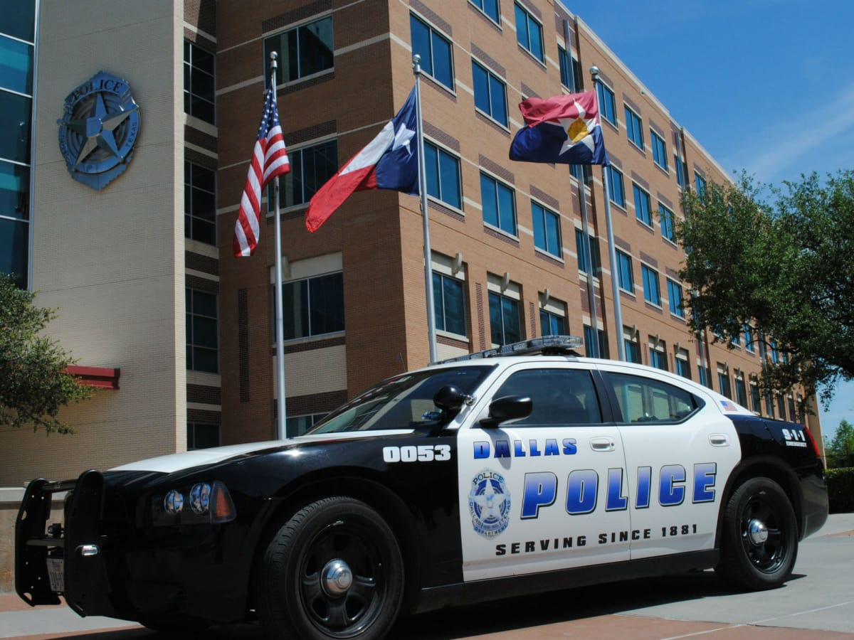 Dallas police car